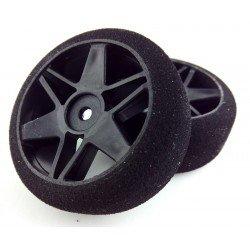 Ruedas 1/10 VMR Delanteras 26mm Carbon 30 Sh (1 Par)