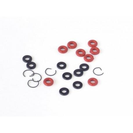 Kit Retenes amortiguadores (gomas, plasticos y grupillas)