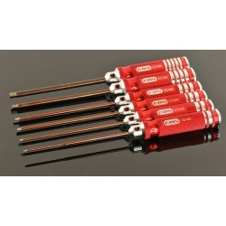 ALLEN WRENCH SET - Metric 6 pcs.