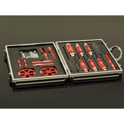 SPECIALIZED TOOLS SET FOR 1/10 EP WITH ALU. CASE