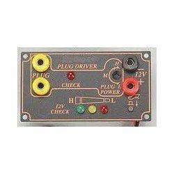 Panel de alimentación regulable (conexión chispo + 12v + prueba 12v)