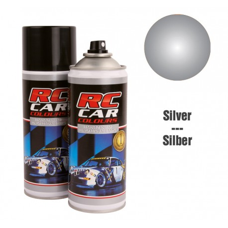 Spray Painting Silver Metallic