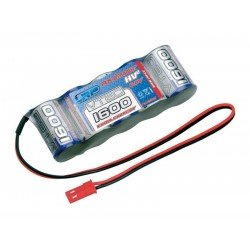 LRP HV² VTEC 1600EC Extra Capacity RX-Pack 6.0V - 1600mAh - Straight