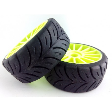 Tyres 1/8 Rally Game - Sport - Soft - Spoke 17mm (1 Pair)
