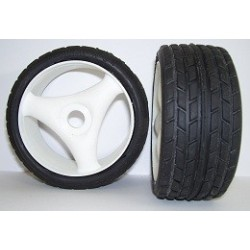 Tyres 1/8 Rally Game - Radial - Spoke 17mm (1 Pair)