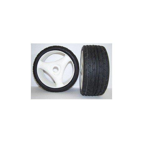 Tyres 1/8 Rally Game - Radial - Spoke 17mm (1 Pair)