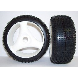 Tyres 1/8 TT - Off Road - Tempest - Spoke 17mm (1 Pair)