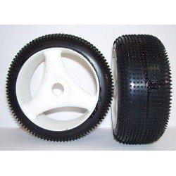 Tyres 1/8 TT - Off Road - Tempest - Spoke 17mm (1 Pair)