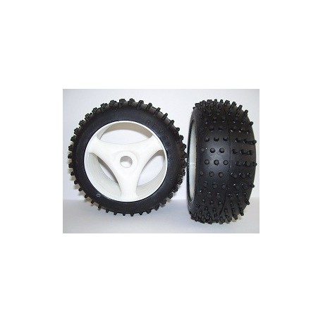 Tyres 1/8 TT - Off Road - Revenge - Spoke 17mm (1 Pair)