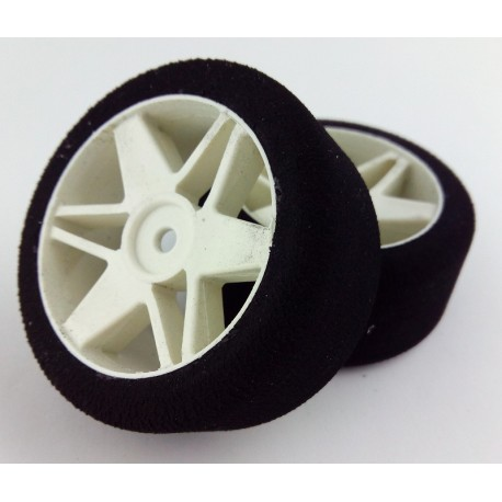 Tyres 1/10 VMR Rear 30mm White 30 Sh (1 Pair)