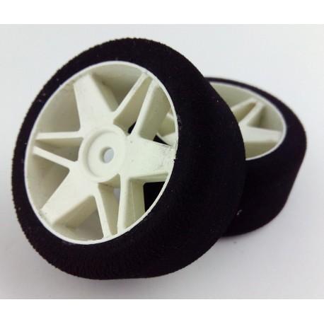 Tyres 1/10 VMR Rear 30mm White 35 Sh (1 Pair)