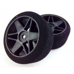 Tyres 1/10 VMR Rear 30mm Carbon 37 Sh (1 Pair)