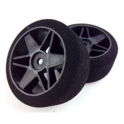 Ruedas 1/10 VMR Traseras 30mm Carbon 40 Sh (1 Par)