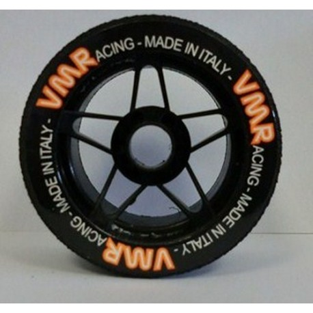 Tyres 1/8 VMR Front Carbon 37 Sh (1 Pair)