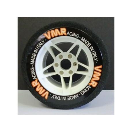 Tyres 1/8 VMR Rear White 35 Sh (1 Pair)