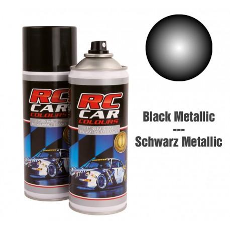 Spray Pintura Negro Metalizado