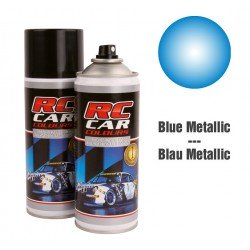 Spray Paint Metallic Blue Alpine