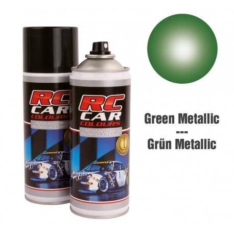 Spray Pintura Verde Metalizado