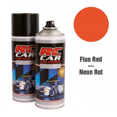 Spray Pintura Rojo Fluor