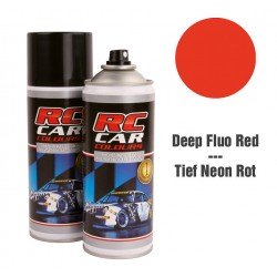 Spray Pintura Rojo Fluor Intenso