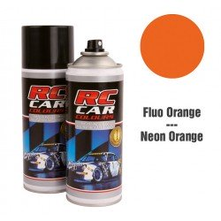 Spray Pintura Naranja Fluor Intenso