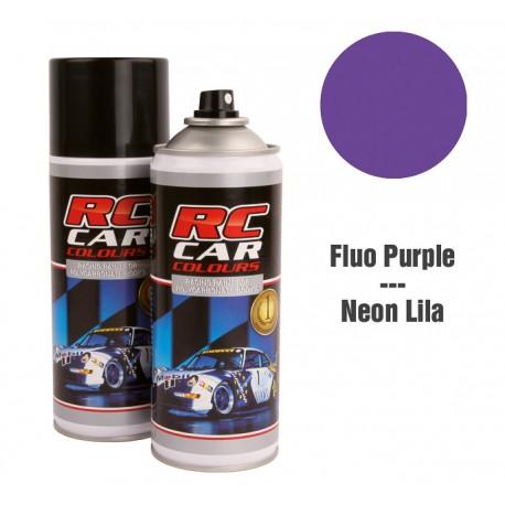 Spray Pintura Púrpura Fluor Intenso