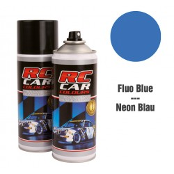 Spray Pintura Azul Fluor Intenso