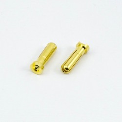 Banana Connectors 5.0Mm 90 Degrees Male (2U.)