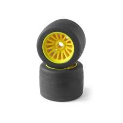 1/8 Edam Rear Rubber Tyre (Rtr) (1 Pair)