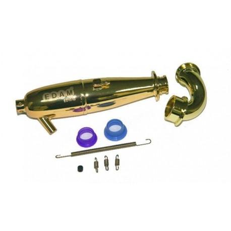 1/10 Touring - Kit escape dorado EFRA 2650 (1 set)