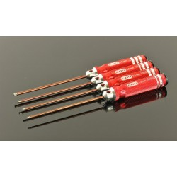 Allen Wrench Set Ball - Metric 4 Pcs.