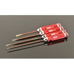 Flat Head Screwdriver Set - 4 Pcs.