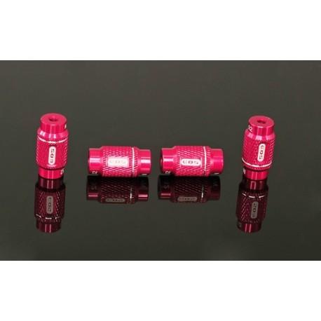 """4mm & 3/32"""" ALU NUT FOR 1/10 SET-UP SYSTEM (4)"""