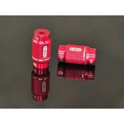 "Tuercas De Aluminio 4mm Y 3/32"" Para 1/10- Para Sistemas Setup (2 Pzas)"