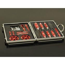 Caja De Aluminio Con Herramientas Especiales Para 1/10 Pe