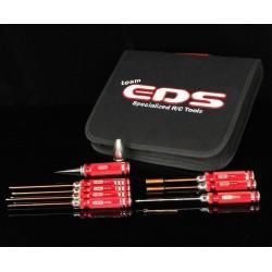 Estuche De Herramientas Combinado Para Coches Touring Electricos - 9 Pzas.