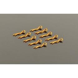 Small Body Clip 1/10 - Gold (10)