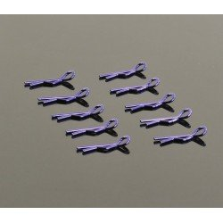 Small Body Clip 1/10 - Metallic Purple (10)