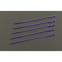 Extra Long Body Clip 1/10 - Metallic Purple (5)