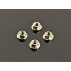 Titanium Wheel Nuts M4 (4 Pcs)