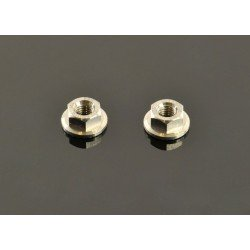 Titanium Wheel Nuts M4 (2 Pcs)