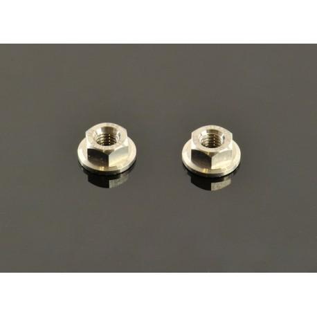 TITANIUM WHEEL NUTS M4 (2 PCS)