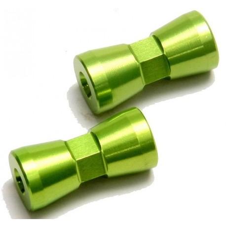 Separadores soporte trasero de carroceria (2pcs)