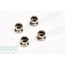 7mm Hexagon & Threaded Inside Ball (4Pcs)