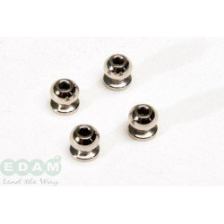7mm Hexagon & Threaded Inside Ball (4Pcs)