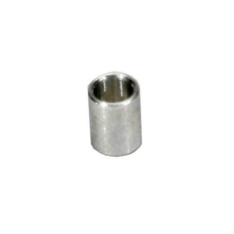 Casquillos aluminio soporte trasero carroceria (4pzs)