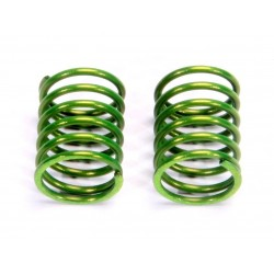 Front Damper Spring 1.6mm (Blackish Green/S) (2Pcs)