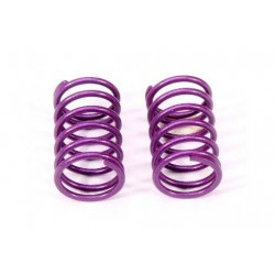 Rear Damper Spring 1.7mm (Purple/L) (2Pcs)