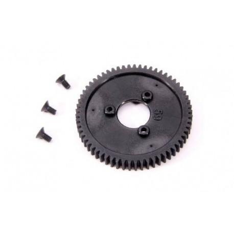 1-Speed Gear 59T (2-speed change One-Way bearing 6mm) (1pc)
