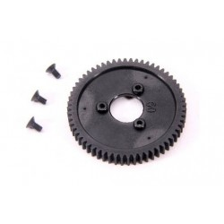 1-Speed Gear 60T (2-Speed Change One-Way Bearing 6mm) (1Pc)